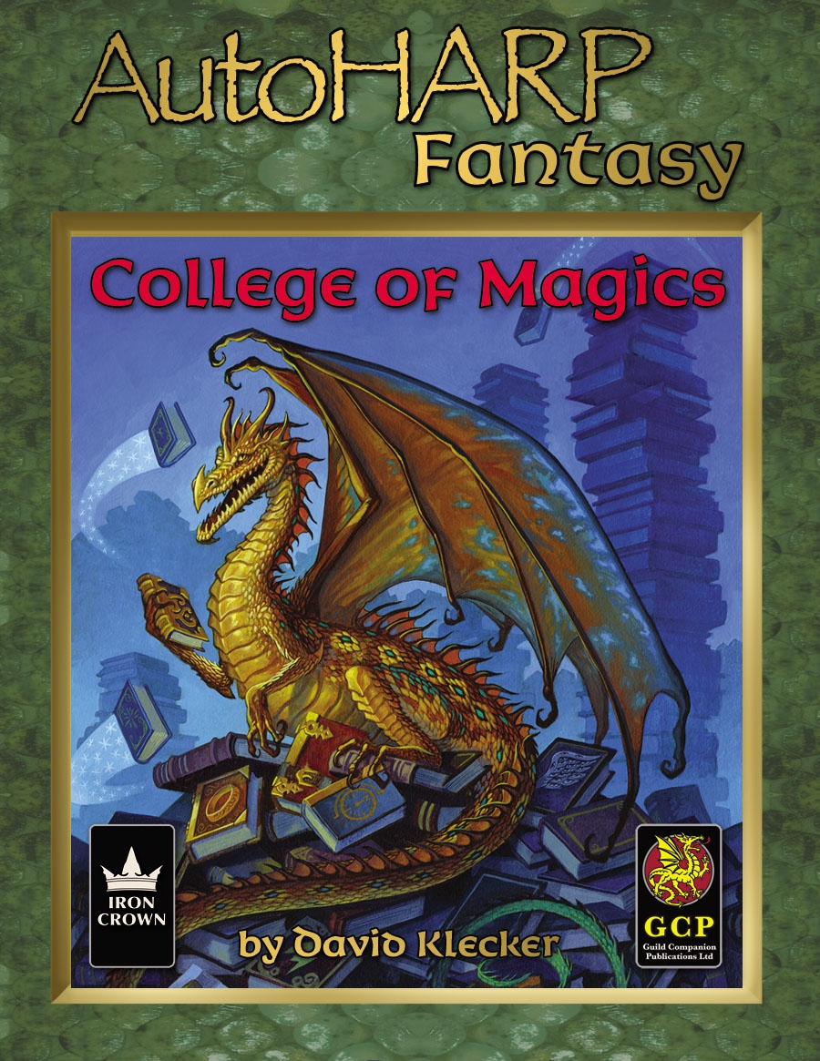 AutoHARP Fantasy College of Magics esupport package