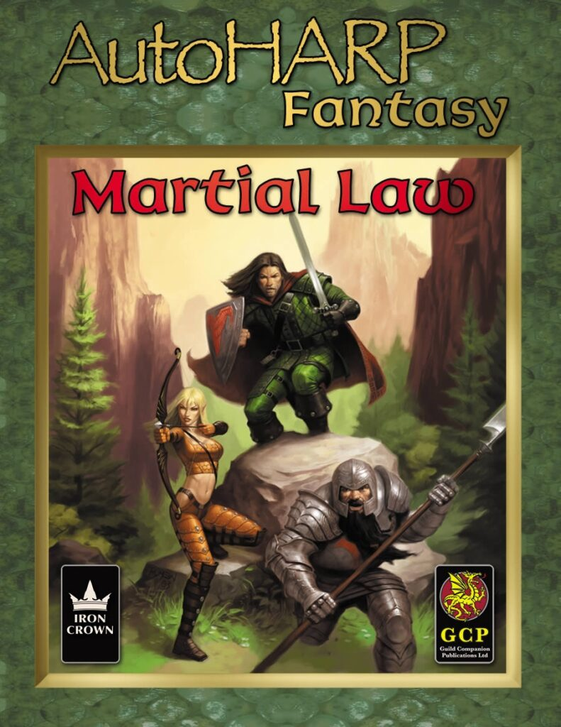 AutoHARP Fantasy Martial Law esupport package