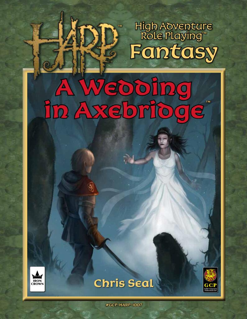 HARP A Wedding in Axebridge cover