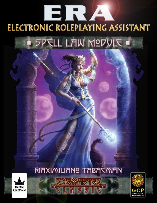 ERA for Rolemaster Spell Law for Rolemaster Classic cover