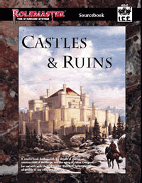 Castle and ruins setting material for Rolemaster