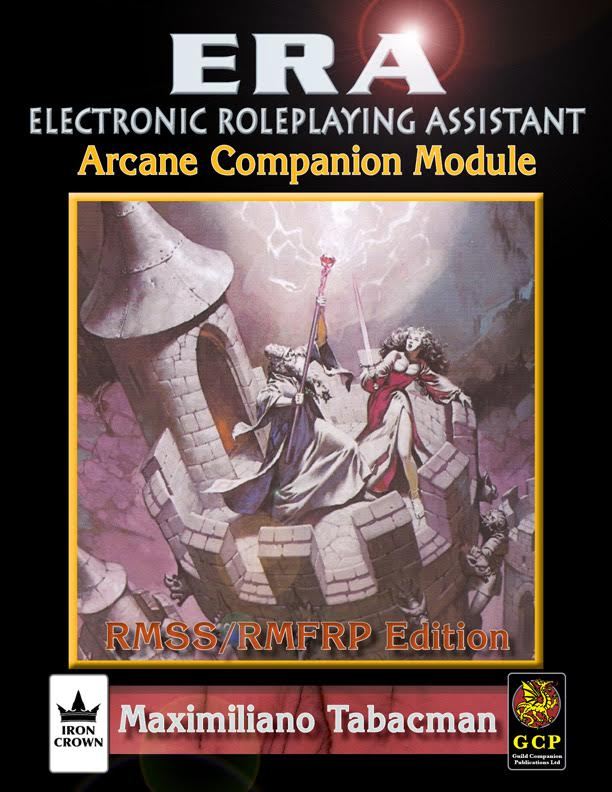 ERA for Rolemaster Rolemaster Fantasy Role Playing Arcane Companion cover