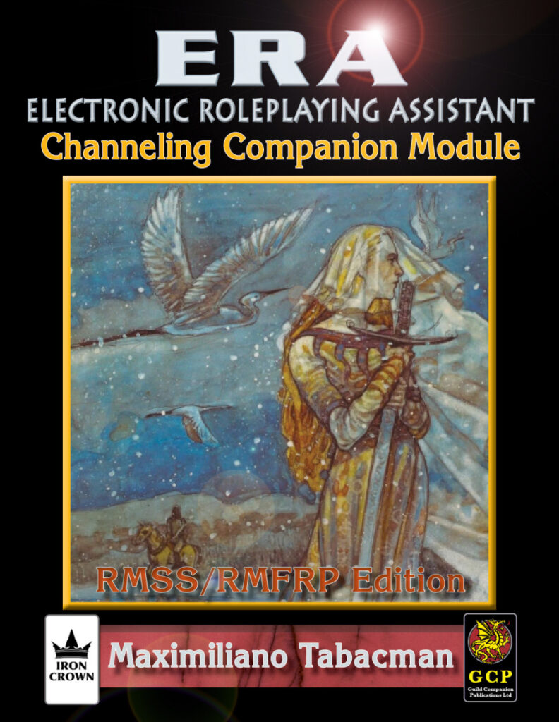 ERA for Rolemaster Channeling Companion for Rolemaster Fantasy Role Playing cover