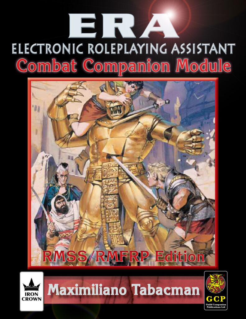 ERA for Rolemaster Combat Companion for Rolemaster Fantasy Role Playing