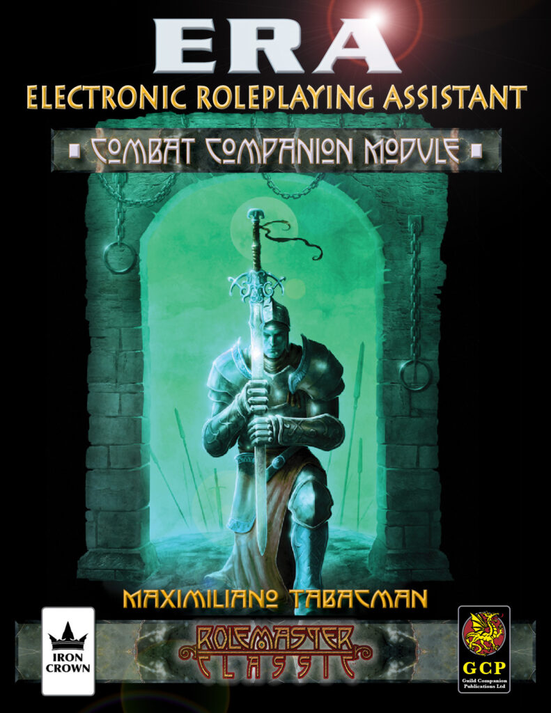 ERA for Rolemaster Combat Companion for Rolemaster Classic cover