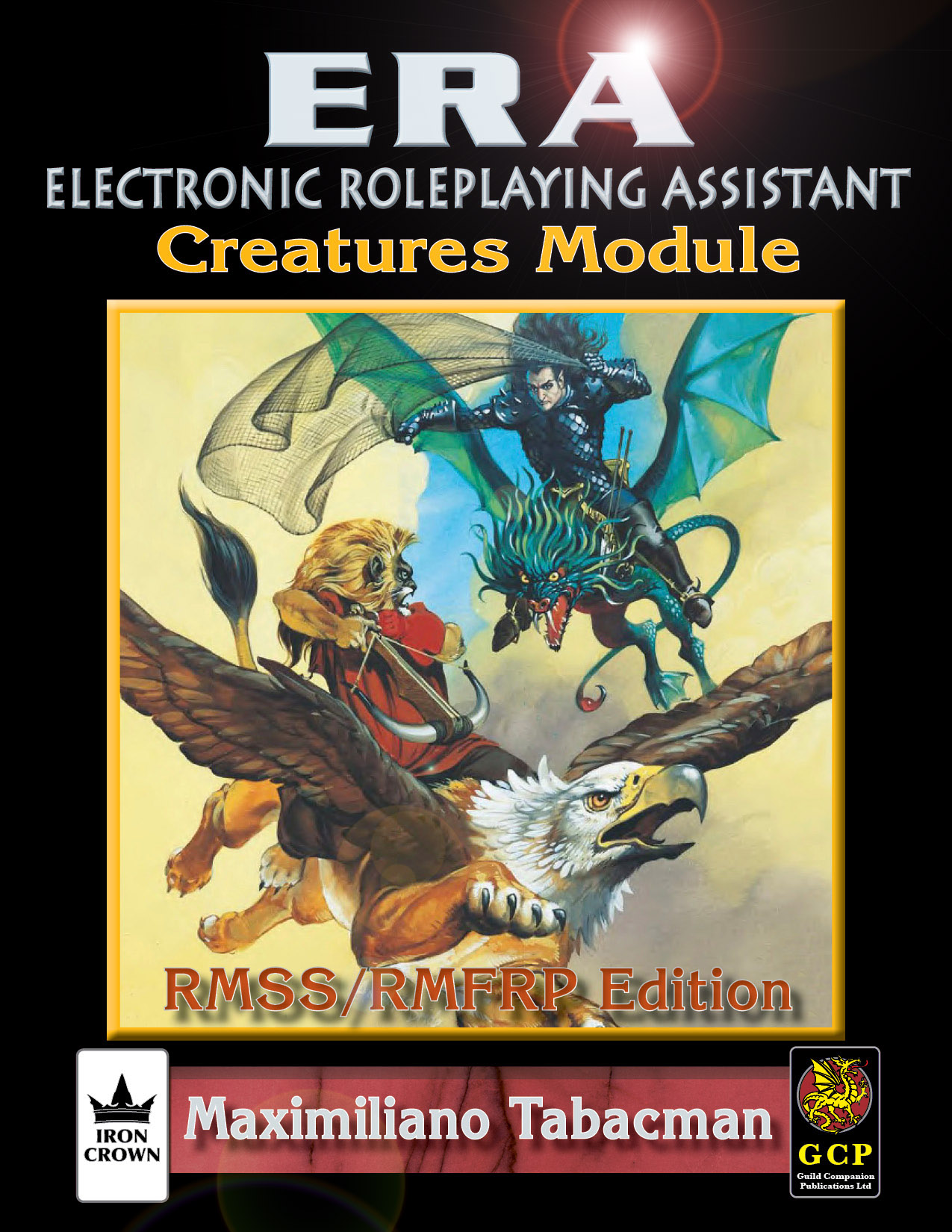 ERA for Rolemaster Creatures module for Rolemaster Fantasy Role Playing