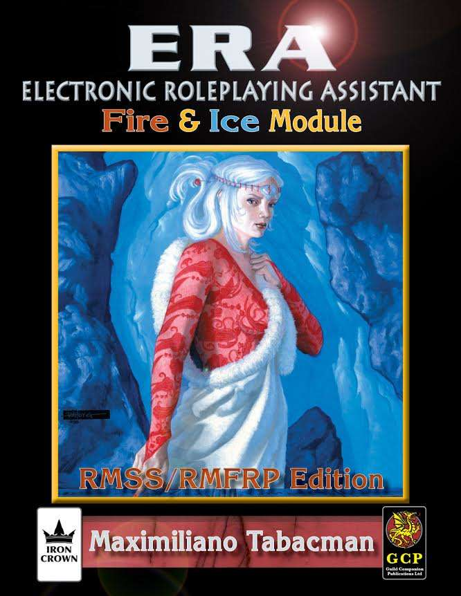 ERA for Rolemaster Fire and Ice for Rolemaster Fantasy Role Playing