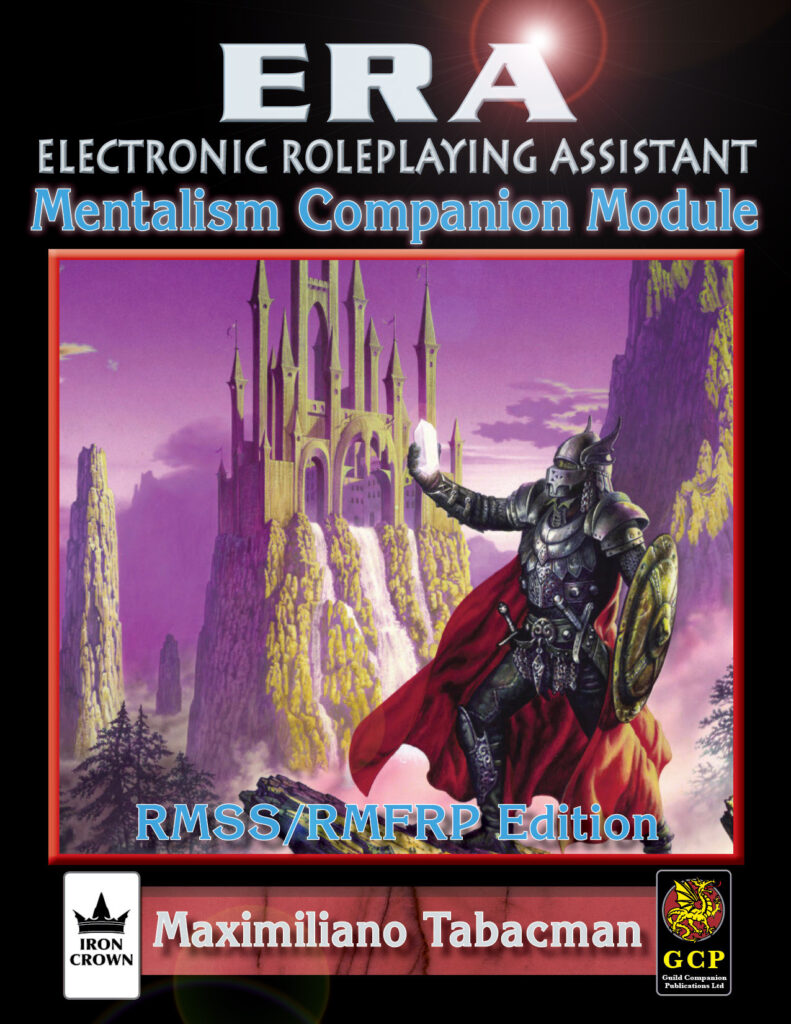 ERA for Rolemaster Mentalism Companion for Rolemaster Standard System
