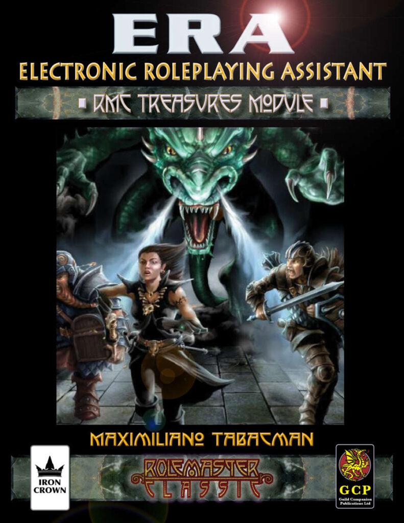 ERA for Rolemaster Treasure companion for Rolemaster Classic cover