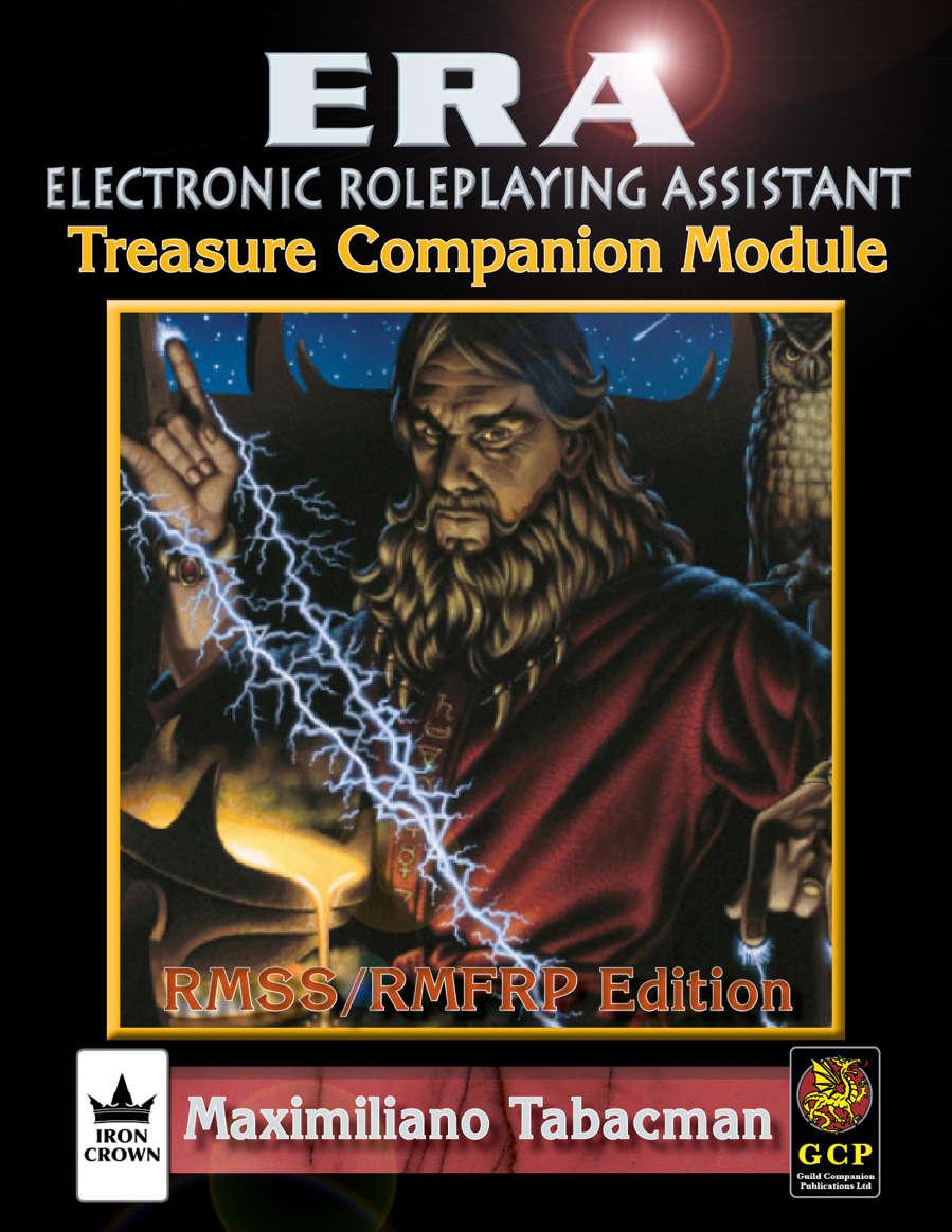 ERA for Rolemaster RMSSFRP Treasure Companion Image