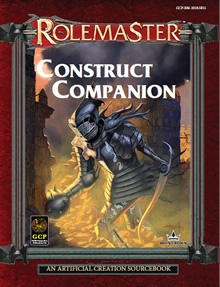 Construct companion for Rolemaster Fantasy Role Playing cover