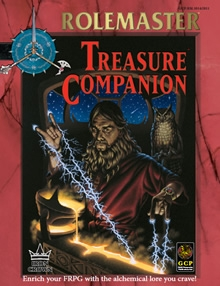 Treasure Companion for Rolemaster Fantasy Role Playing cover