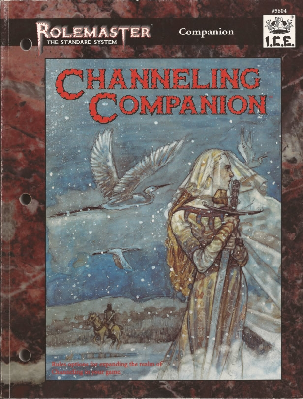 Channeling Companion for Rolemaster Standard System cover