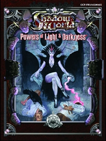 Shadow World powers of light and darkness for Rolemaster