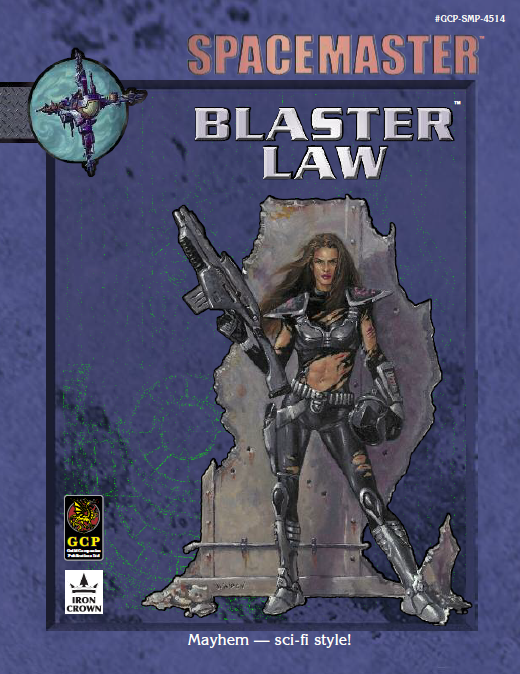 Spacemaster Blaster Law