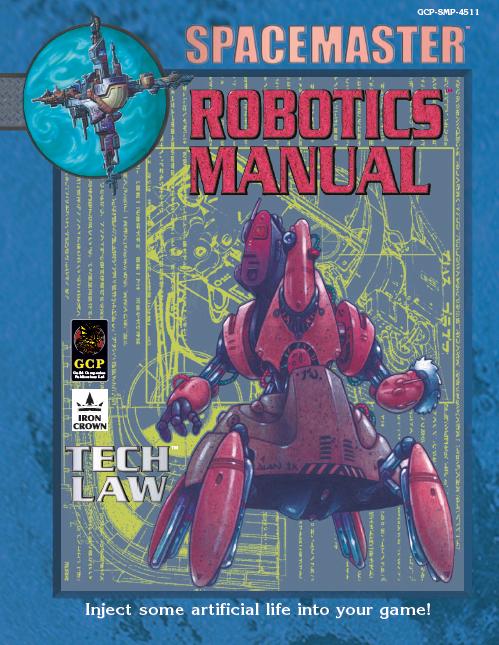 Spacemaster Privateers Tech Book Robotics Manual