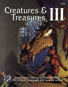 Creatures and Treasures 3 for Rolemaster Classic cover