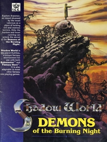Demons of the burning night shadow world adventure for Rolemaster