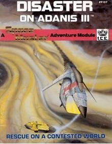 Disaster on Adanis III Spacemaster adventure module