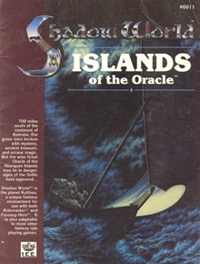 Islands of the oracle Shadow World adventure module cover