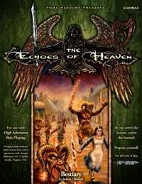 Bestiary - Echoes of heaven campaign setting cover