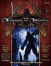 The lost kingdom of the dwarves - Echoes of heaven campaign setting cover