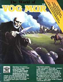 The world of Vog Mur for Rolemaster