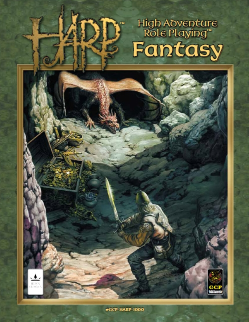 High Adventure Role Playing (HARP) Fantasy