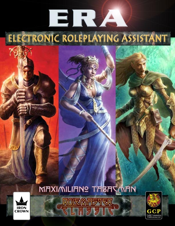 Electronic Roleplaying Assistant for Rolemaster cover