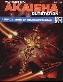 Action on Akaisha outstation adventure module for Spacemaster 2
