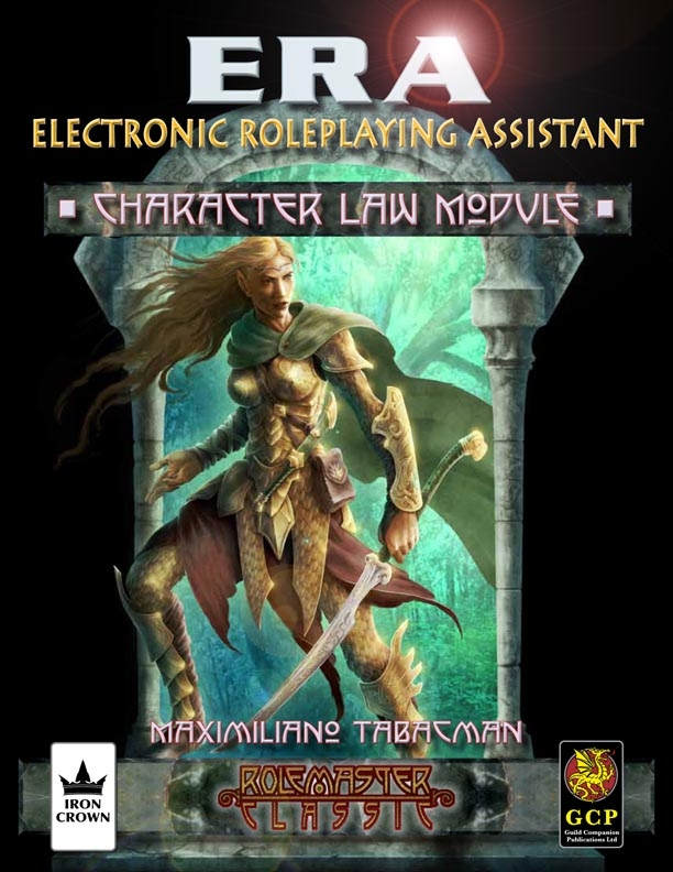 ERA for Rolemaster Character Law for Rolemaster Classic