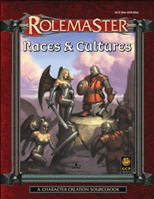Races and Cultures for Rolemaster Fantasy Role Playing