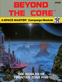 Beyond the core adventure module for Spacemaster