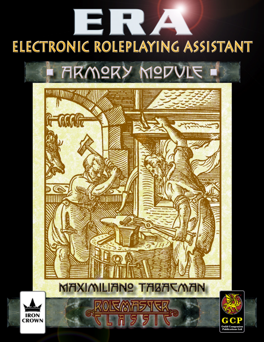 ERA for Rolemaster Armory companion for Rolemaster Classic cover