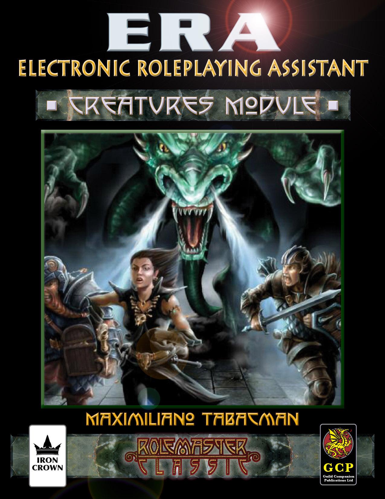 ERA for Rolemaster Creatures Compendium for Rolemaster Classic cover