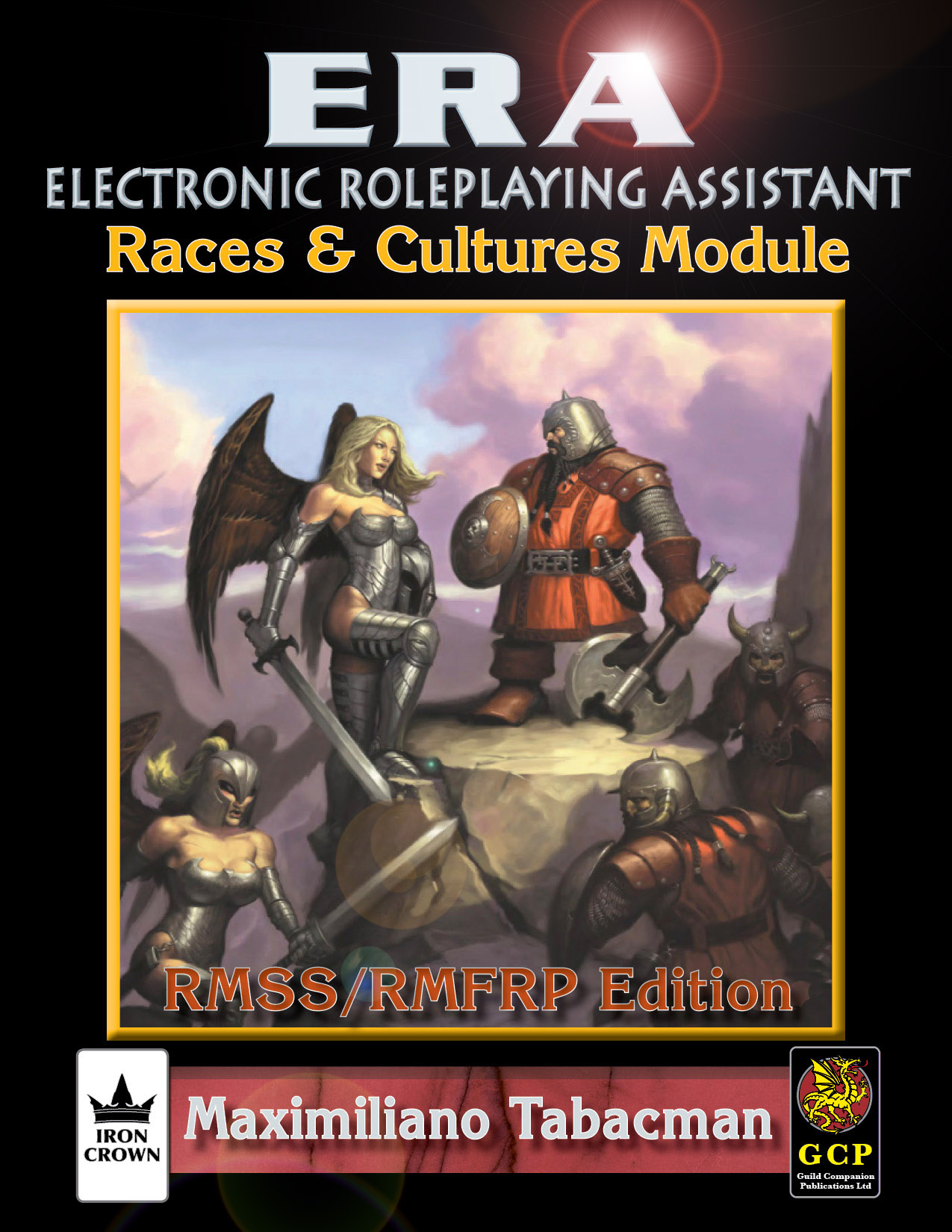 ERA for Rolemaster Races and Cultures for Rolemaster Fantasy Role Playing cover
