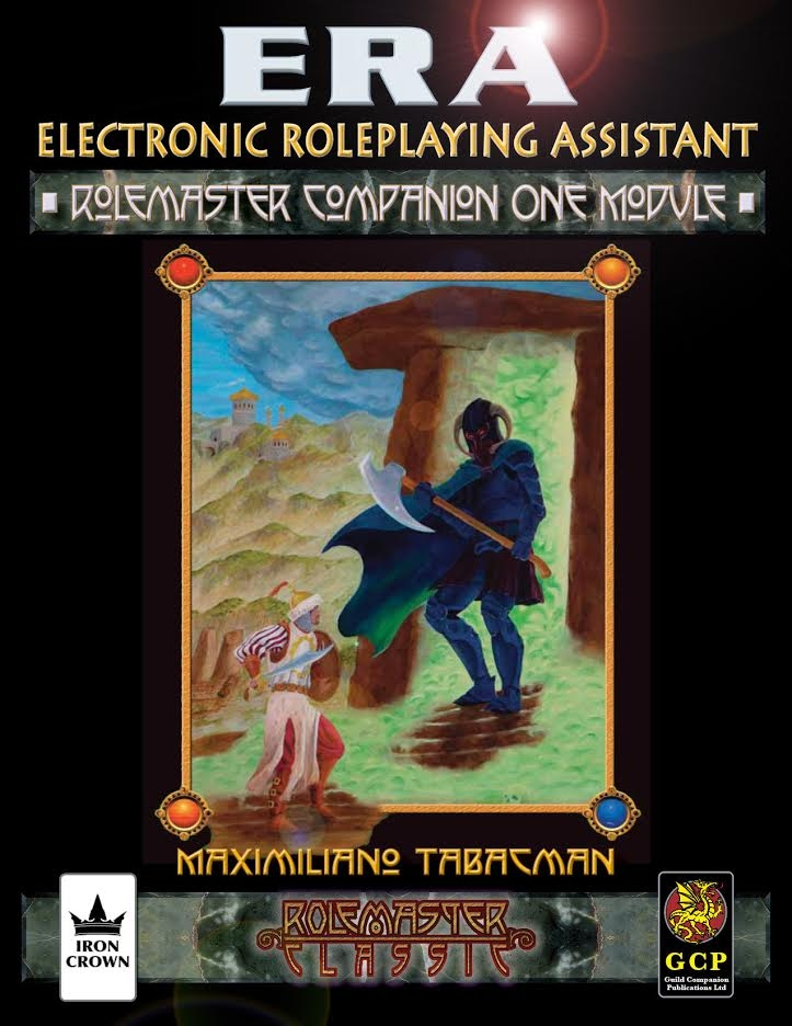 ERA for Rolemaster Companion I for Rolemaster Classic