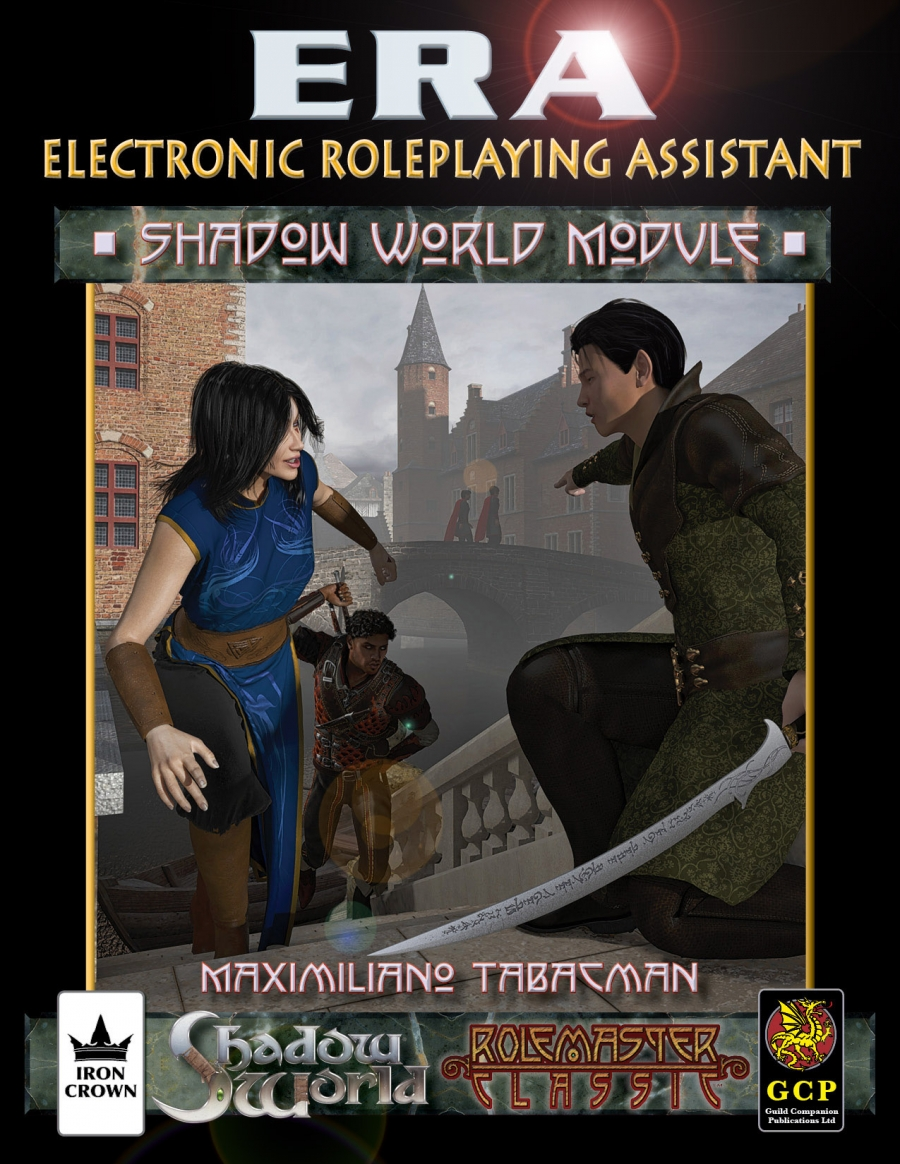 ERA for Rolemaster Shadow World companion for Rolemaster Classic