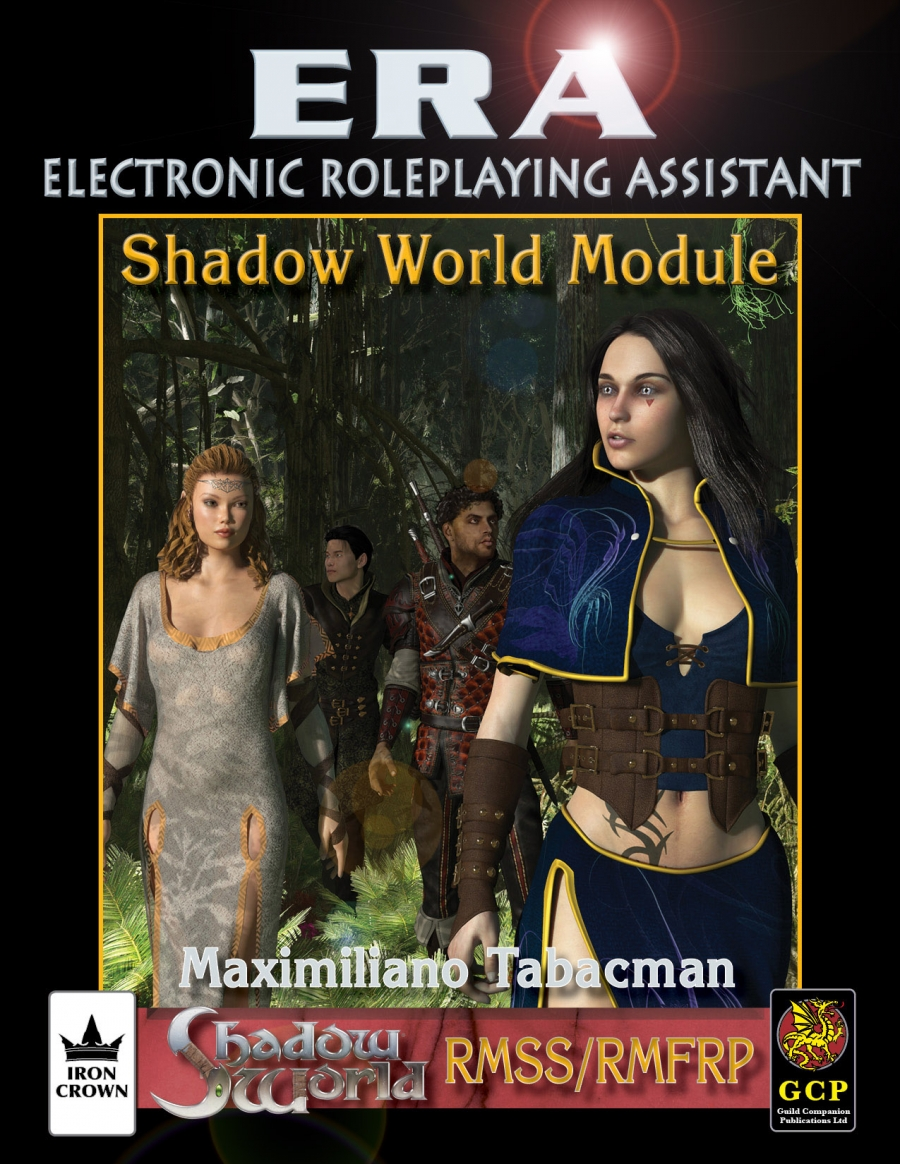 ERA for Rolemaster Shadow World Companion for Rolemaster Fantasy Role Playing