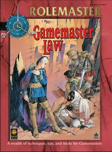 Gamemaster Law for Rolemaster Fantasy Role Playing cover