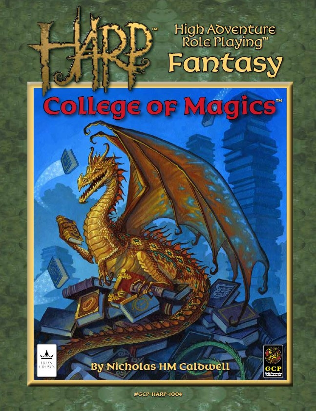 HARP College of Magics cover