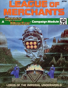 League of merchants adventure module for Spacemaster cover