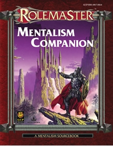 Mentalism companion for Rolemaster Fantasy Role Playing cover