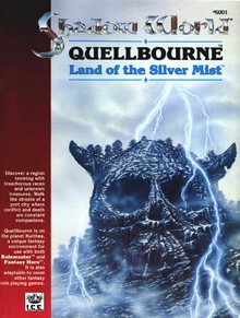 Quellbourne land of silver mist Shadow World adventure module for Rolemaster cover
