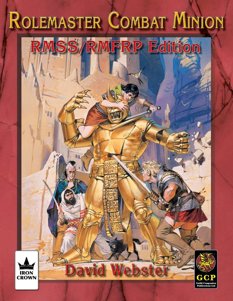 Rolemaster Combat Minion for Rolemaster Fantasy Role Playing