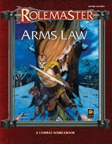 Arms Law for Rolemaster Fantasy Role Playing cover