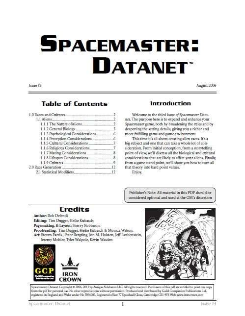 Spacemaster Datanet 3