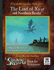 Shadow World the Land of Xa-ar for Rolemaster