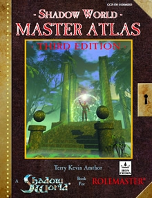 Shadow World Master Atlas 3rd Edition cover