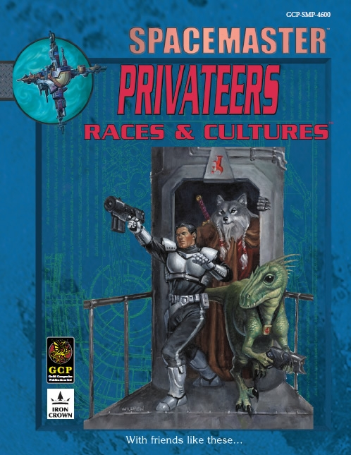 Spacemaster Privateers Races and Cultures